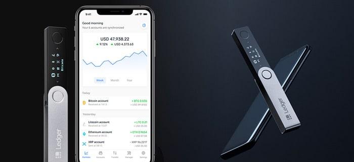 Ledger nano x app
